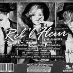 Reb'l Fleur (The Ri-Mixes) Back Cover (Tracklisting)