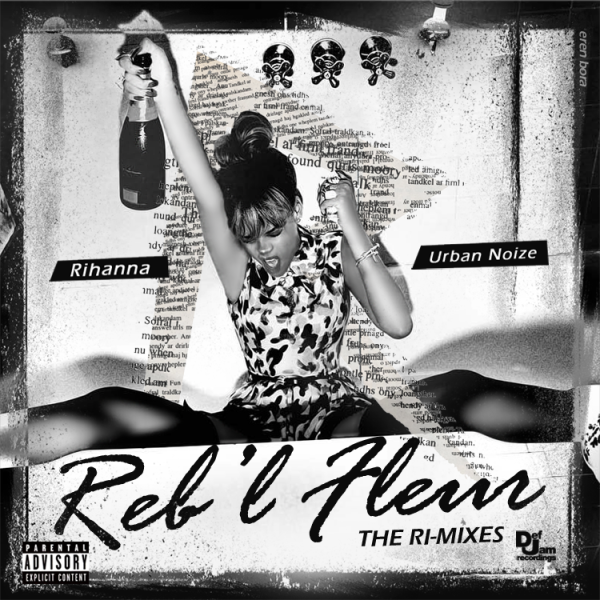 Reb'l Fleur (The Ri-Mixes) Front Cover