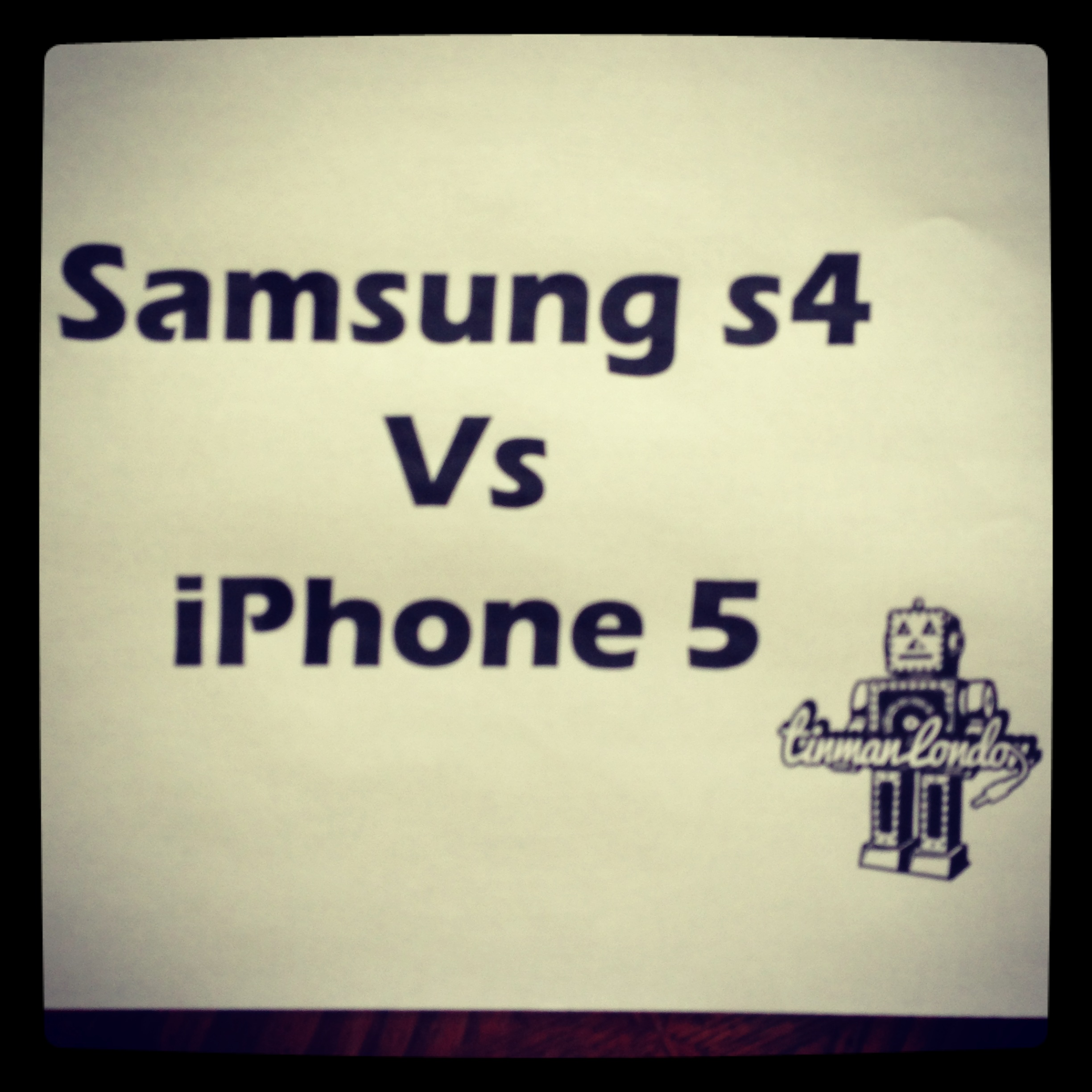 Samsung S4 Vs Apple iPhone5
