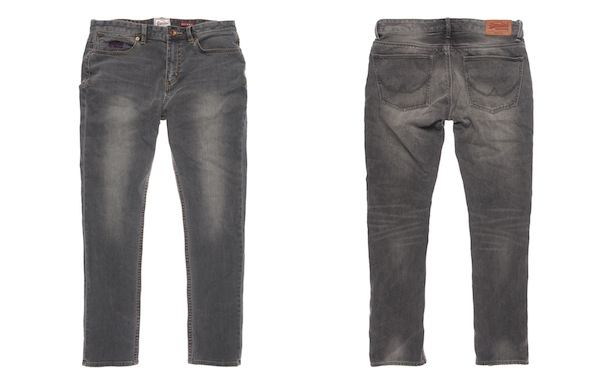 Superdry - NEW OFFICER SLIM_Vintage Grey