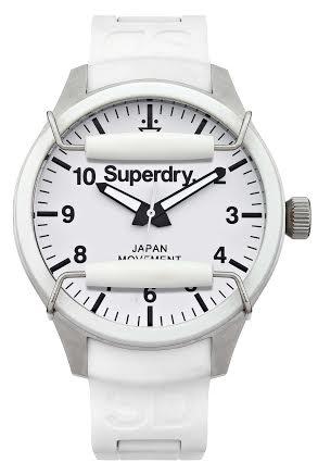 white-superdry-watch