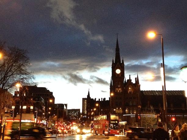 St Pancras view
