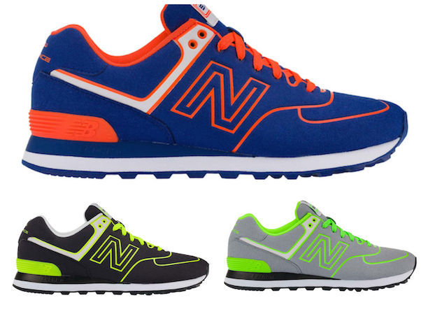 differently a8fde 7460a NEW BALANCE 574 NEON LIGHTS | TinMan London