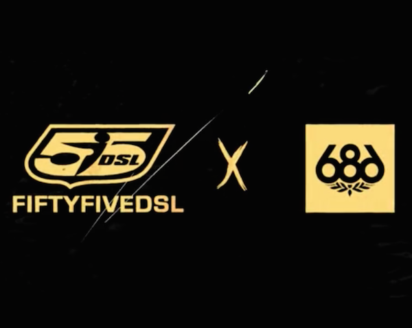 Italian Streetwear Brand 55DSL Has Teamed Up With LA Based Technical Apparel Label 686 For The Launch Of Several New Rebellious Slope Styles